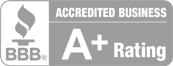 BBB Acredited Business A+ Rating